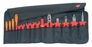 Knipex 98 99 13 Insulated Tool Set 15 Pc