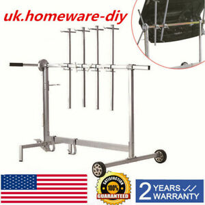 New Automotive Spray Painting Rack Stand Auto Body Shop Paint Booth Hood Parts