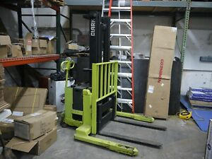 Clark Walk Behind Fork Lift With Charger