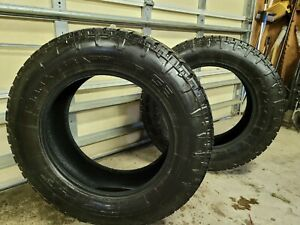 Used Nitto Terra Grappler G2 275 65r20 123 126s 10p r