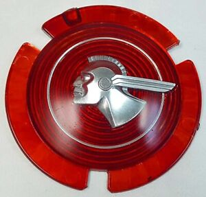 1951 Or 1953 Pontiac Chieftain Badge Grille Medallion Wire Wheel Center