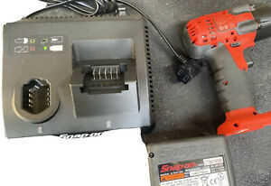 Snap On 3 8 Drive 18v Lithium Cordless Impact Wrench Gun Ct8810a Snapon