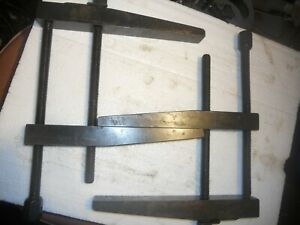 Parallel Clamps Large Hardened Black Oxide 9 In Open 7in Beautiful