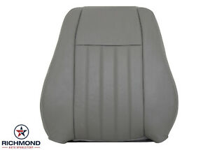 2005 2006 2007 Jeep Liberty Driver Side Lean Back Leather Seat Cover Gray