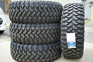 4 New Comforser Cf3000 Lt 35x12 50r18 123q E 10 Ply Mt M T Mud Tires