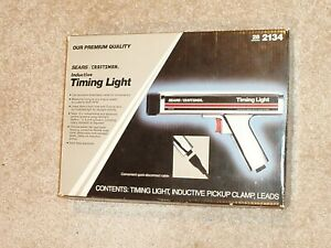Vintage Sears Craftsman Usa 2134 Inductive Timing Light Automotive 161 213400
