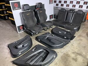 Dodge Charger R t Daytona 392 15 20 Oem Daytona Suede Leather Panel Seats 50k