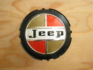 Kaiser Jeep Wagoneer Wheel Hub Cap Center Badge For Wheel Cover 948 631 J