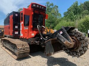 2014 Bandit 3500t Hydro Stump Grinder With Only 1610 Hours 3845