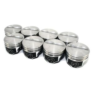 Sbc Chevy 383 20 Speed Pro Flat Top Pistons 5 7 Rod 4 020 Small Block