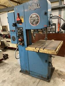 Doall 2012 2h Contour Band Saw W hydraulic Table Feed 11 Blades Included