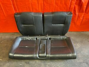 02 04 Acura Rsx Type S Base Complete Rear Leather Seat Set Seats Black Oem