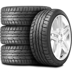 4 New Dunlop Direzza Dz102 205 55r16 91v High Performance Tire