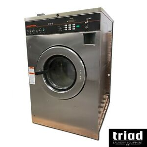 13 Speed Queen 30lb Coin Commercial Washer 1ph Laundromat Huebsch Unimac Ipso