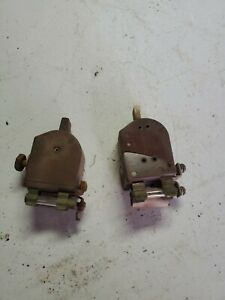 1948 Chevy Fleetmaster Delco Remy Dash Mount Heat Defroster Switch Oem Untested
