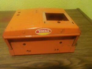 Vintage Mighty Tonka Wrecker Truck Cab Without Top For Parts