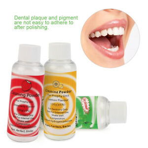 3 Types Dental Cleaning Powder Prophy Mate Air Jet Polisher Cleaning Care 130g