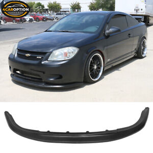 Fits 05 10 Chevy Cobalt Ss Only St Style Front Bumper Lip Unpainted Pu