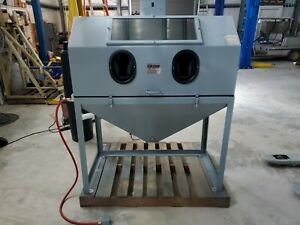 Cyclone 4826 Sand Blaster Only Two Months Old Sand Blasting Cabinet