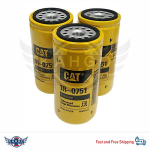 Fuel Filter Cat 1r 0751 pack Of 3