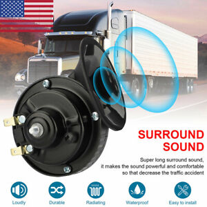 12v 150db Train Horn Waterproof For Motorcycles Cars Truck Boat Super Loud