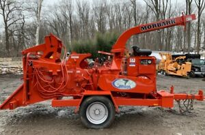 Morbark Tornado 15 Chipper With Hydraulic Winch 3737