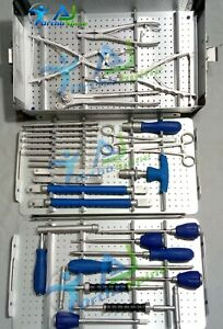 Instruments For Spine Surgery Spinal Pedical Screw System Instruments Set