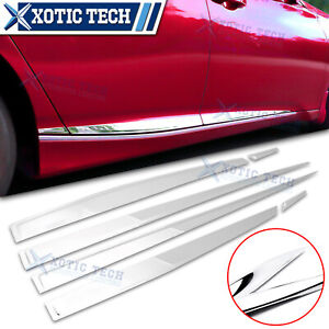 Stainless Steel Body Door Side Molding Trim For Honda Accord 10th 2018 2020 2021