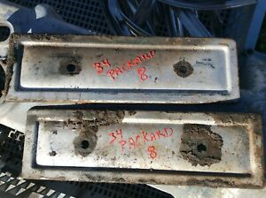1934 Packard Std 8 Engine Side Covers 1933 1935 1936