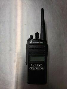 Motorola Cp185 Two Way Radio Uhf 16 Ch Battery Included
