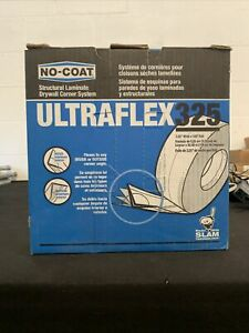 No coat Ultraflex 325 Flexible Drywall Corner Trim 3 25 Inch Wide X 100 Roll