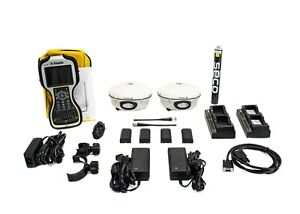Trimble Dual R8 Model 3 Gps gnss Receiver Kit W Tsc3 Data Collector Access