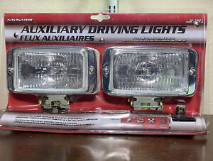 Navigator Auxiliary 3 x 5 Clear Driving Light High Intensity Nib Factory Sealed