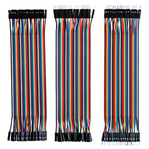 Elegoo El cp 004 120pcs Multicolored Dupont Wire 40pin Male To Female 40pin To