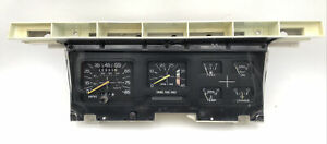 1980 86 Ford Truck Diesel Speedo Cluster With Tach Manual Trans E1tf 10c956 b
