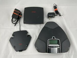 Avaya B169 Wireless Ip Dect Conf Phone 700508893 W Charger Cradle Base Statio