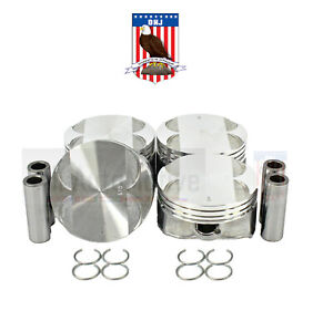Engine Piston Set Gas Dohc Ecotec 16 Valves Dnj P336 20
