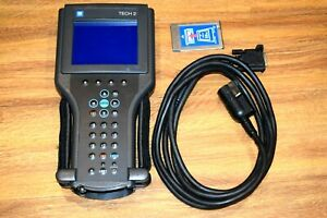 Original Vetronix Tech 2 Diagnostic Scanner Scan Tool With Gm Program Card
