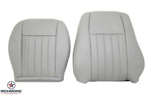 2005 2006 2007 Jeep Liberty Limited driver Side Complete Leather Seat Covers Tan