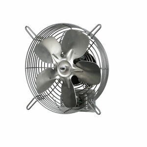 Guard mounted Exhaust Fan Drive Type Direct Fan Diam 10 In Air Delivery 680 Cfm