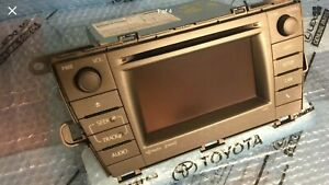 2012 2013 Toyota Prius Gps Navigation Receiver Radio Touchscreen 57032 Oem