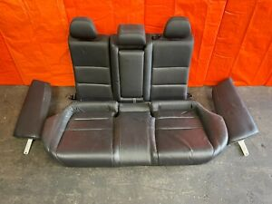 09 14 Acura Tsx Sedan Complete Rear Seat Set Seats Black Leather Oem Oe