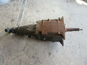 1960s Gm Chevy Saginaw 3 Ring 4 Speed Transmission Cheverolt 5