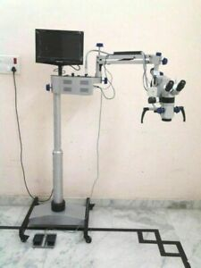 Ent Operating Microscope 5 Step Lcd Camera Motorized Age250