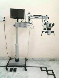 Ent Operating Microscope 5 Step Lcd Camera Motorized For Laboratory