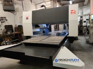 Haas Gr 510 Gantry Router 15 000 Rpm 20 Atc Wireless Probing System And More