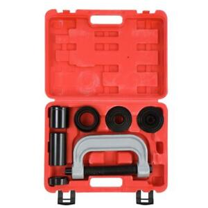 10pcs 4 In 1 Ball Joint Press Amp U Joint Removal Tool Kit With 4x4 Adapters Case