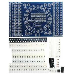 1set Soldering Smd Circuit Board Led Electronics Project Diy Kit Smt Pcb