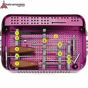 New Cannulated Screw Set 4 00 Mm Orthopedic Surgical Instruments