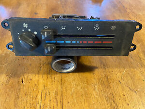 1997 1998 Jeep Wrangler Tj No Ac Climate Control Heater Oem